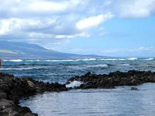 Kahina Pohaki Fishpond on Molokai