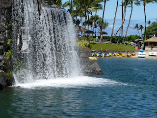 Hilton Waterfall at Snorkel Lagoon