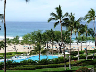 Hapuna Beach from Hapuna Beach Prince Hotel