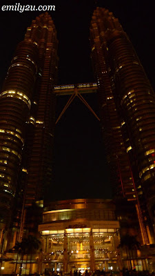 KLCC during Earth Hour 2010