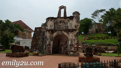 The ruins of A'Famosa