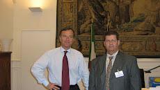 Con il Ministro Esteri Franco FRATTINI
