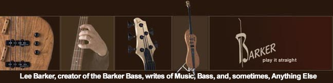 Barker Bass Blog
