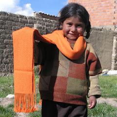 Handmade Scraf from Bolivia