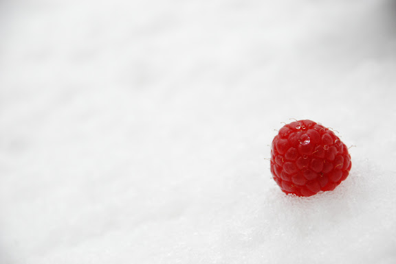 Raspberry in Snow