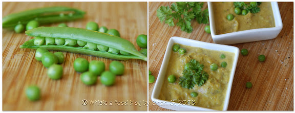 Fresh Peas and Pea Soup