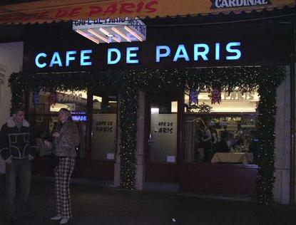 Café de Paris in Geneva