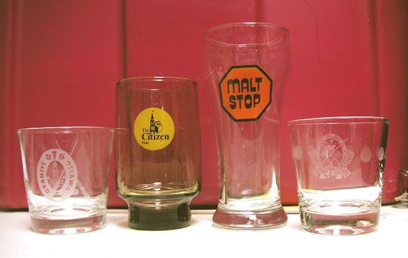The Malt Stop glass