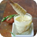 Sauce Barnaise (Warm emulsified sauce derived from Hollandaise sauce)