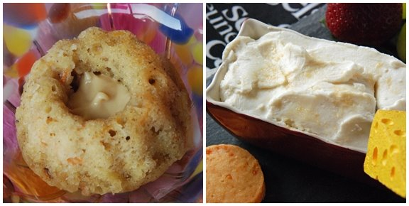 Maple Carrot Muffins and Goat Cheese Maple Dip