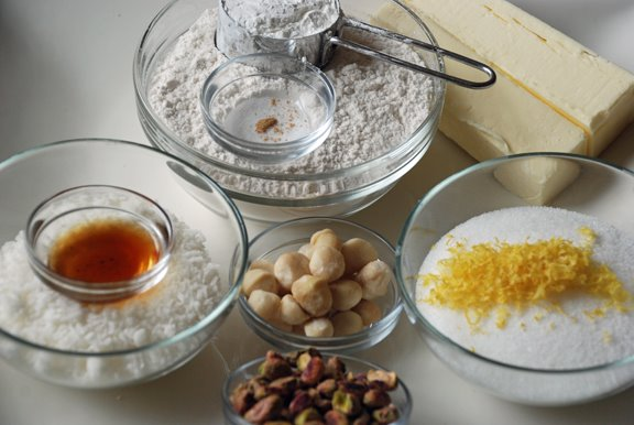 Ingredients for Coconut Butter Thins