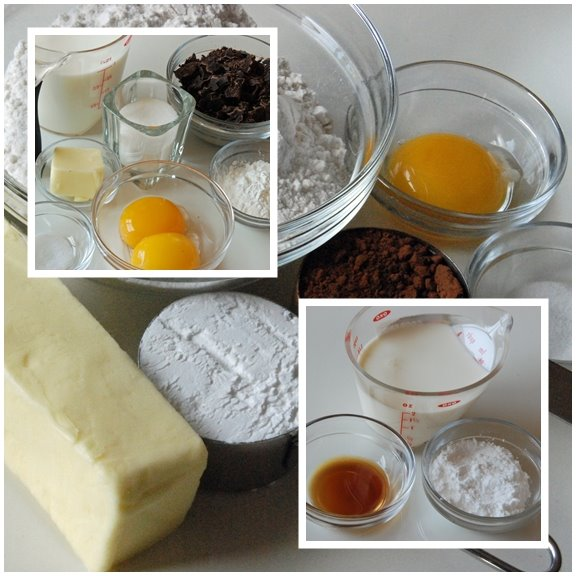 Chocolate Cream Tart Ingredients