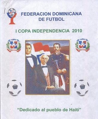 COPA INDEPENDENCIA DE FUTBOL 2010 DOMINGO 28 9:30 AM LA BARRANQUITA SANTIAGO