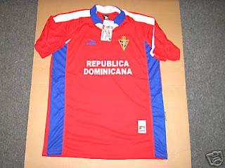 A la venta camiseta de la Selección Dominicana