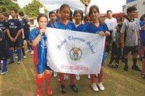 Colegio Saint Thomas inicia torneo de fútbol con  400 atletas de ocho centros