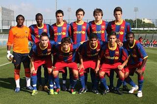 Carlos Martínez Rivas del Fútbol Club Barcelona convocado a la Selección Nacional Sub-17