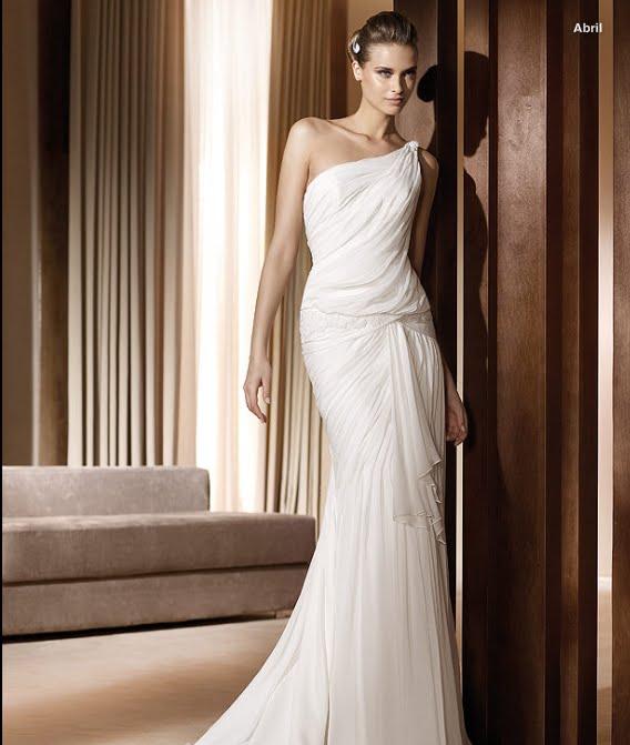 todo sobre bodas: vestido de novia abril pronovias 2011 colecciÓn