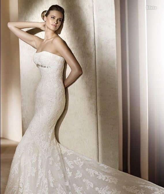todo sobre bodas: vestido de novia silaba pronovias 2011 colecciÓn
