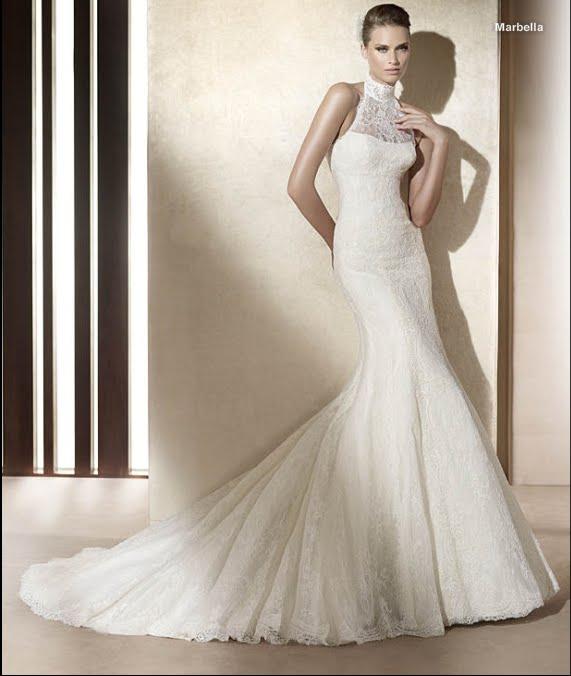 todo sobre bodas: vestido de novia marbella pronovias 2011 colecciÓn