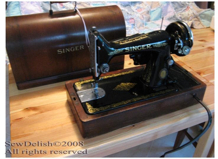 antique singer sewing machine manuals