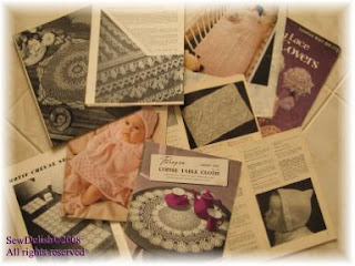 Vintage Knitting and Crochet Patterns