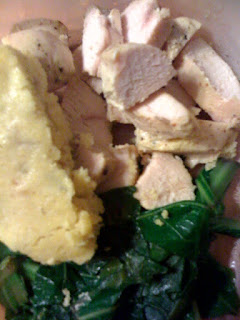 ... Butter Broadcast: Baked Chicken With Dijon and Lime & Collards