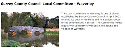 Surrey County Council Local Committee (Waverley)