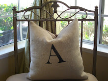 New Monogram & Number Pillows Are In!
