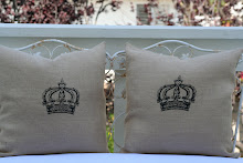 Burlap Queen Design Crowns