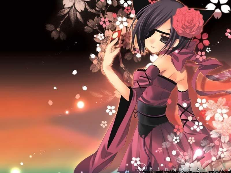 A Beautiful Anime Girl Desvarios Otaku...
