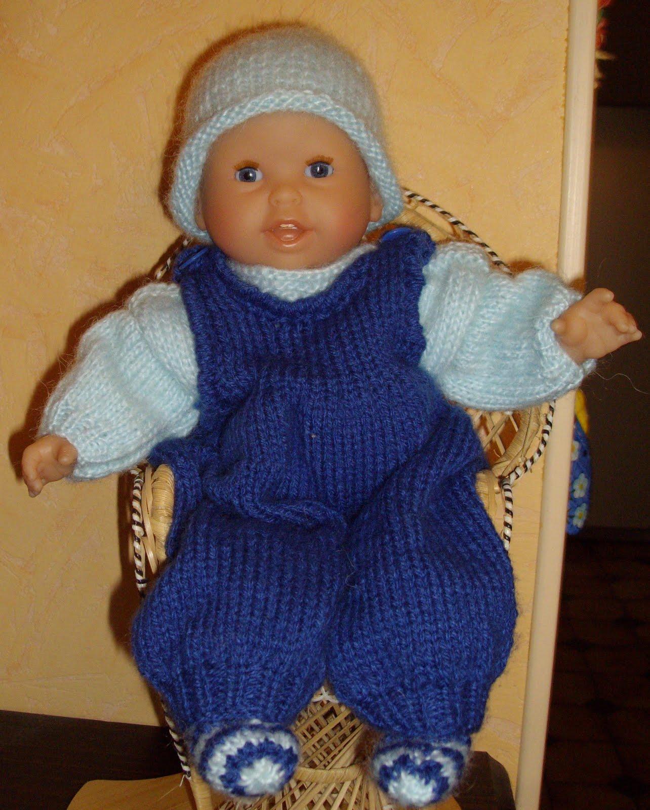 patron tricot gratuit poupon 30 cm