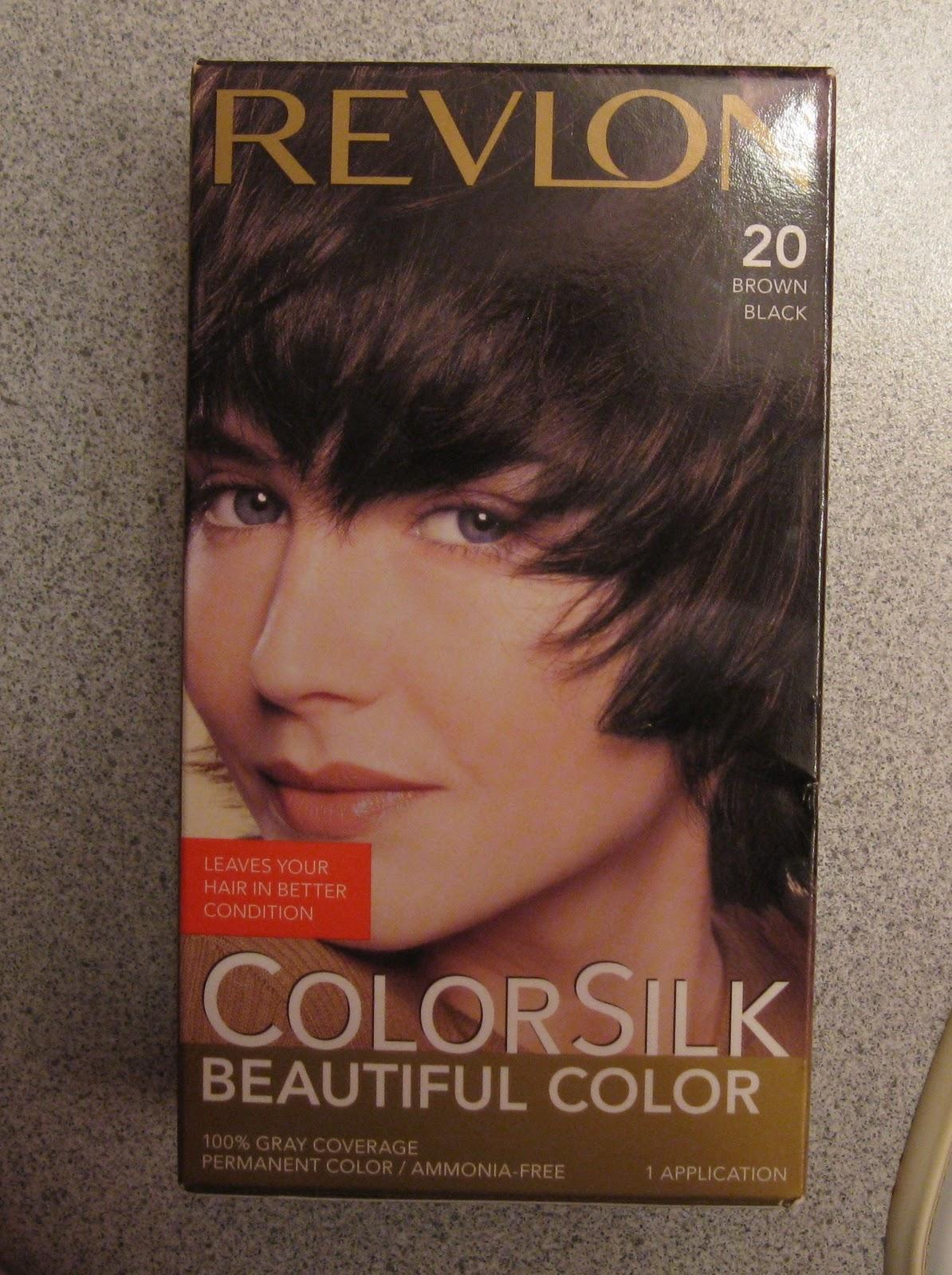 Revlon Colorsilk In Brown Black 20