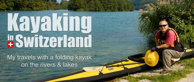 Kayaking in Switzerland
