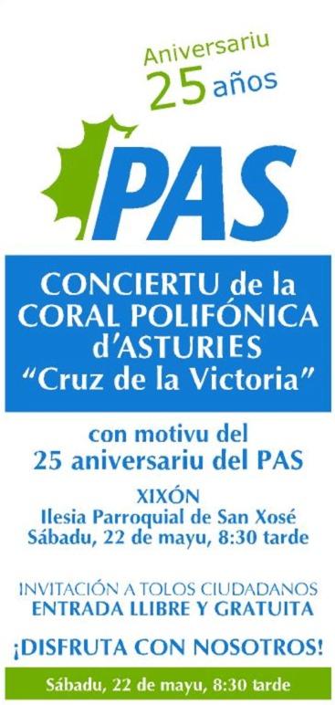 25 aniversariu del Partíu Asturianista (PAS)