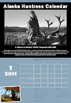 The 2013 Alaska Huntress Calendar is ready for purchase!