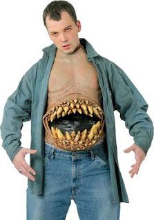 disfraz de barriga hambrienta