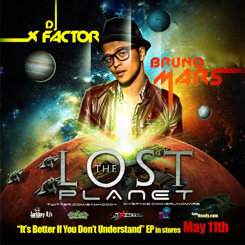 Bruno Mars- The Lost Planet (Free Mixtape)