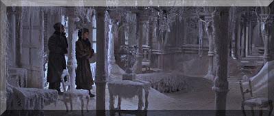 Yuri ve Lara Buz Tutmuş Evde