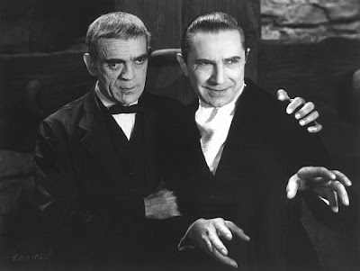 Karloff ve Béla Lugosi