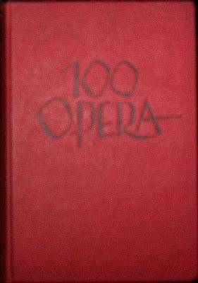 Kırmızı Bez Ciltli 1964 Basımı `100 Opera´