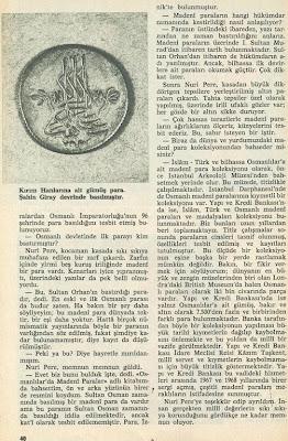 HAYAT TARİH MECMUSASI - 1970 - SAYI -1 - SAYFA 40