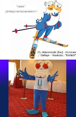 25.UNIVERSIADE - ERZURUM - 2011 - MASKOT - KANKA