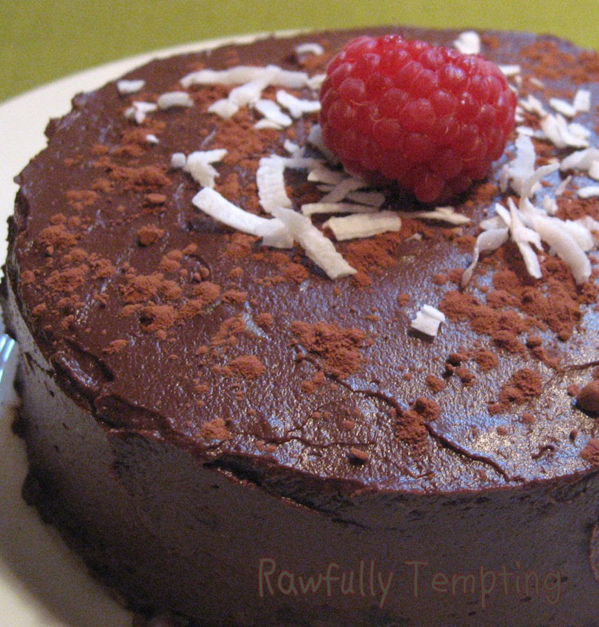 Chocolate Raspberry Layer Cake