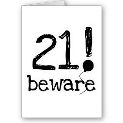 Προσοχή! Ο αριθμός 21 είναι ένα αποκρυφιστικό - Καμπαλιστικό σύμβολο.