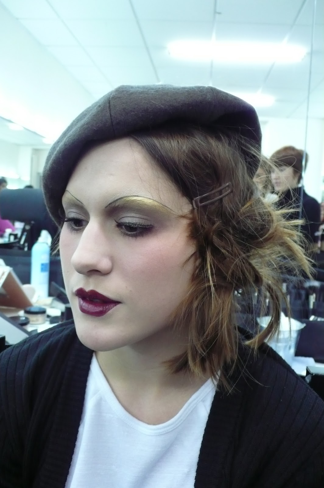 Ma vie en beaut maquillage ann es 20 glamour la d mo de flavia - Maquillage annee 20 ...