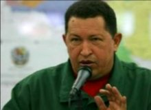 HUGO CHAVEZ MALDICE A ISRAEL
