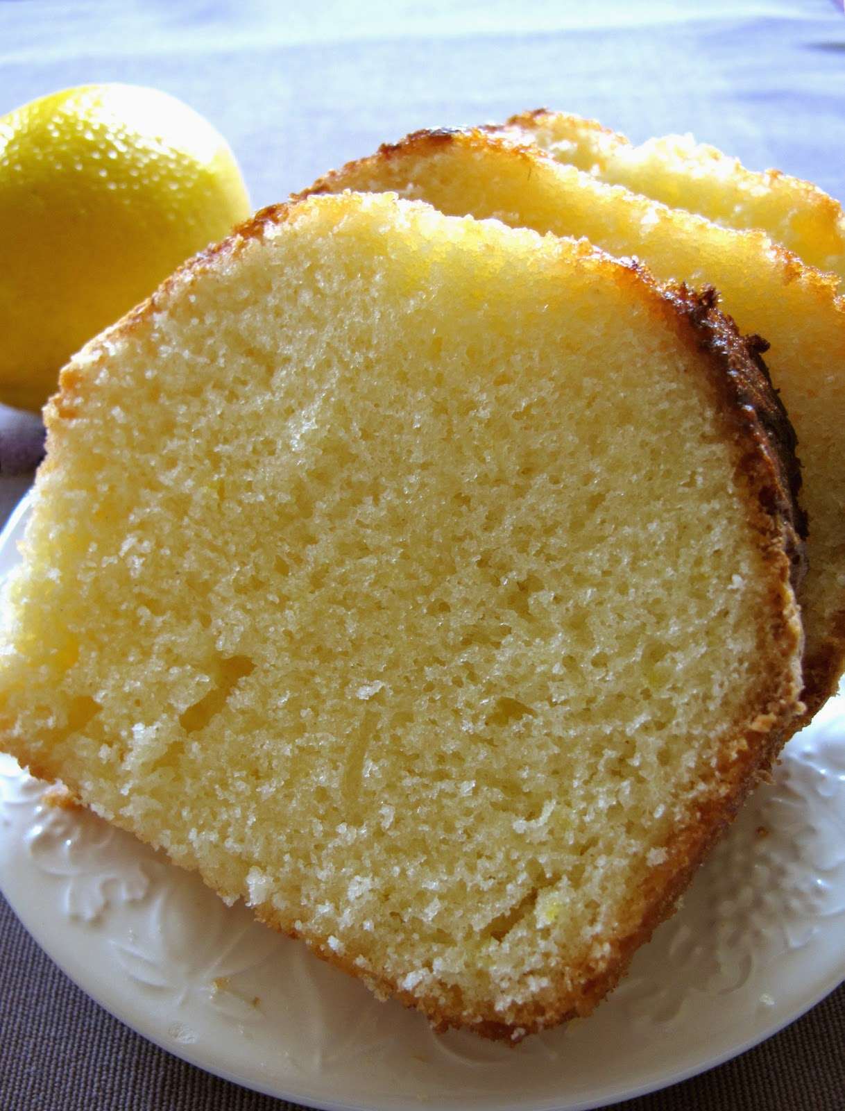Cake Recipe: Lemon Cake Egg Free Recipe