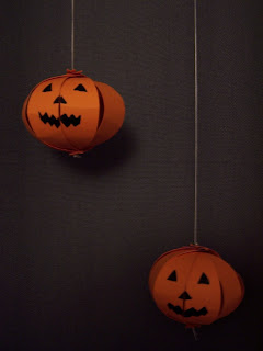 HalloweenPumpkinPaperDecoration
