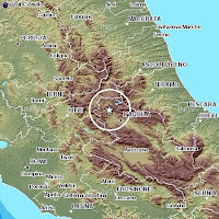 earthquake's l'aquila abruzzi Italy center