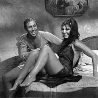 Celentano and Claudia Mori, yesterday